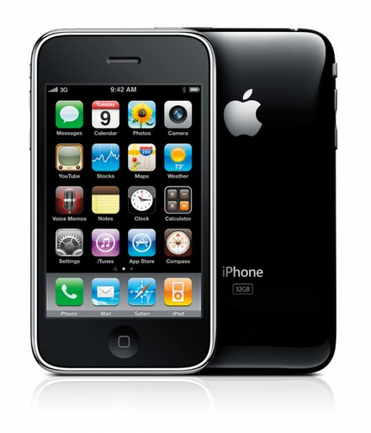 Apple iPhone 3G Front & Back View