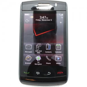 BlackBerry Storm2 9550 front