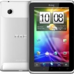 HTC Flyer three side view