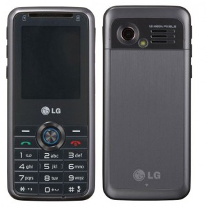 LG GX200 Front and Back view
