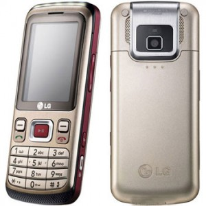LG KM335 Front and Back View