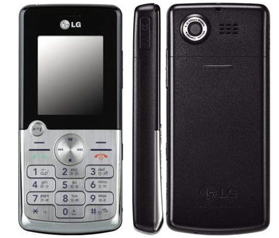 LG KP220 Front,Back and Side View