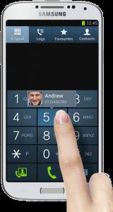 GALAXY-S4 smart Screen