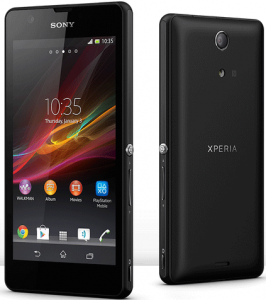 sony-XPERIA-ZR-FRONT-and-BACK