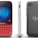 BlackBerry Q5 Three Sided View