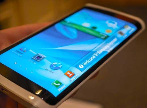 Samsung Curved Smartphones