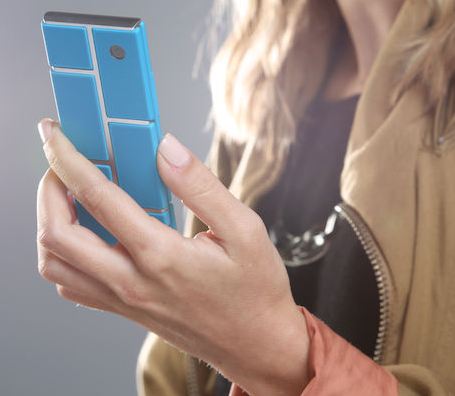 Modular design Android smartphone