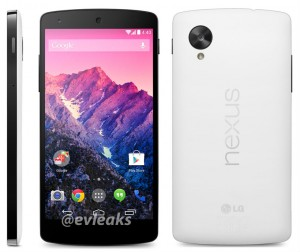 LG Nexus 5 in White