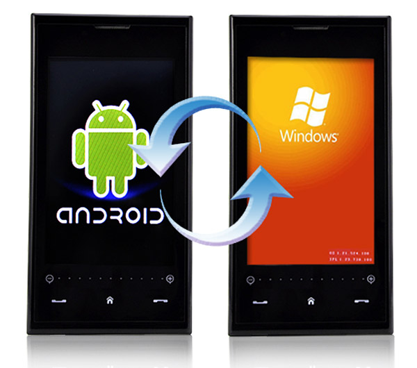 windows OS vs Android Smartphons