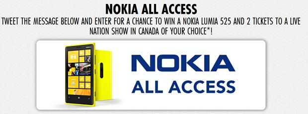 Nokia Lumia 525 All Access