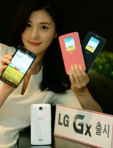 LG Gx smartphone