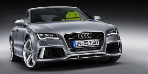 Android in Cars like Audi