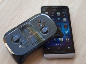 Blackberry gamepad