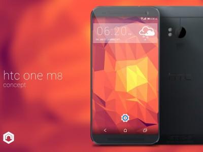 HTC M8 Full HD display