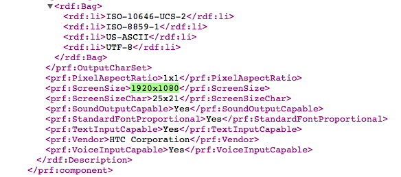 HTC one M8 agent file