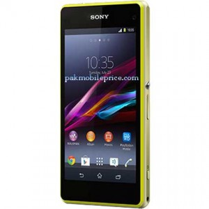 Sony Xperia Z1 Compact Price and Specs