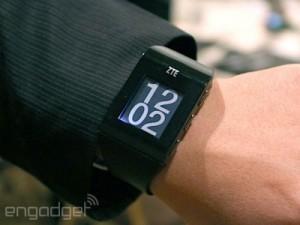 ZTE smart Blue watch