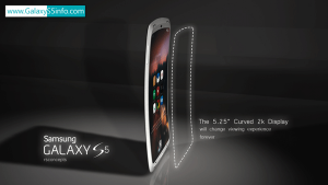 Samsung Galaxy S5 Display Concept