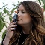 transmitting odor via smartphone