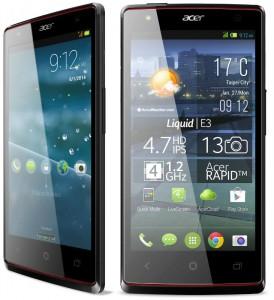 Acer Liquid Z4 smartphones and Liquid E3