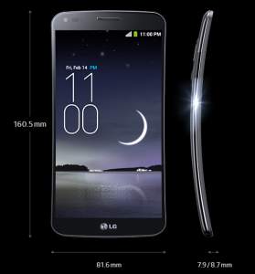 LG G Flex Curved mobile