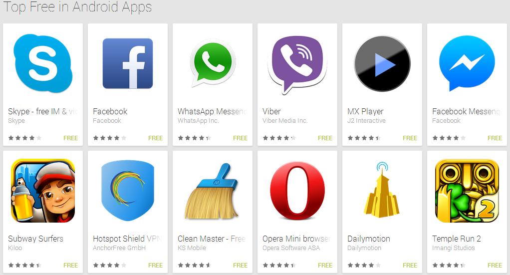 best android apps for mobile