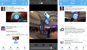 Twitter Vido Reviews for mobile Apps
