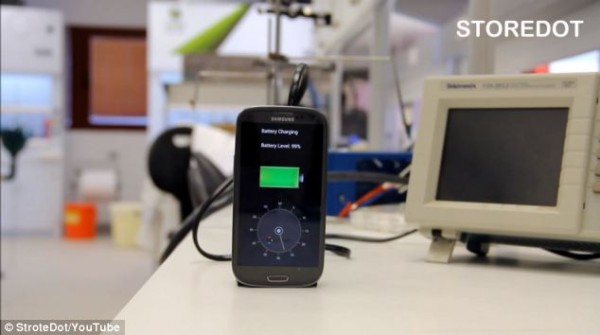 30 seconds mobile charging
