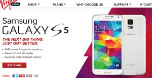 Samsung Galaxy S5 now Sold by Virgin Mobile and Boost