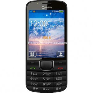 QMobile W200 pak mobile price