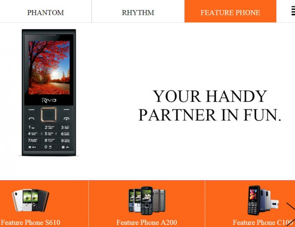 Rivo-feature-phones