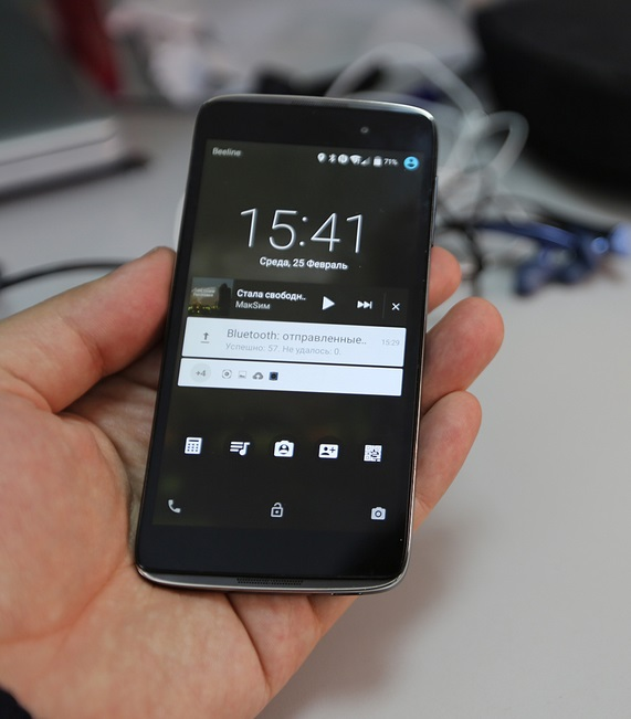 The First Look at Alcatel OneTouch Idol 3 6039Y