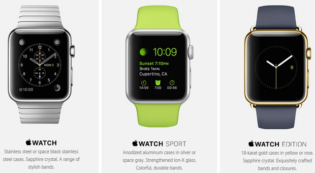 Apple iphone smart watches