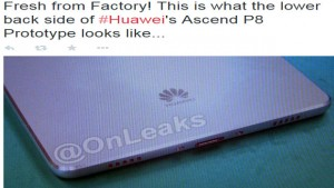 Huawei P8 leaked image on twitter