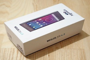 Latest Smartphone Wexler ZEN 4.5 Review