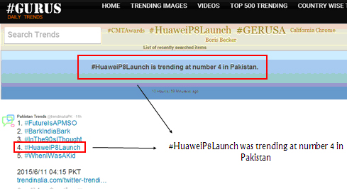 Huawei P8 Received Outstanding Reception in Pakistan