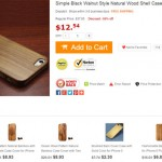 Where to buy best and cheap iPhone 5 wooden cases?
