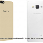 Comparison between Huawei's Honor 4X & Samsung's A3
