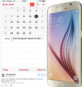 Samsung Galaxy S7 will hit European Market on 11th March 2016