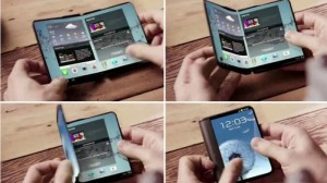 Folded Next Generation Smartphones From Samsung Will Release in 2017