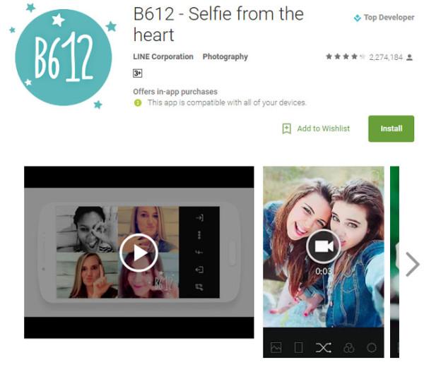 B612 - Best Selfie app