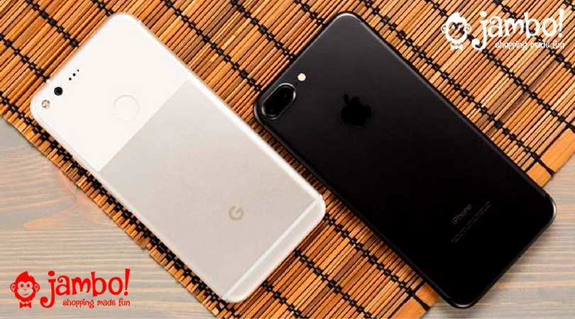 iPhone 7 plus Specs vs Google Pixel XL Specs