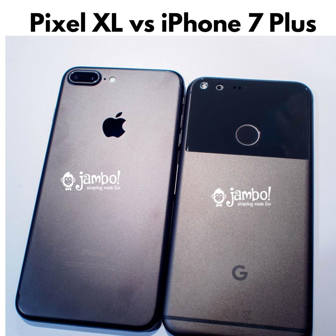 Comparison: Apple iPhone 7 Plus vs Google Pixel XL