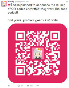 Twitter QR Codes – New Feature from Twitter to follow and promote