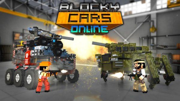 Blocky Cars Online Mod APK