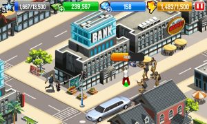 Download Gangstar City Mod APK Unlimited Money And Diamond For Android
