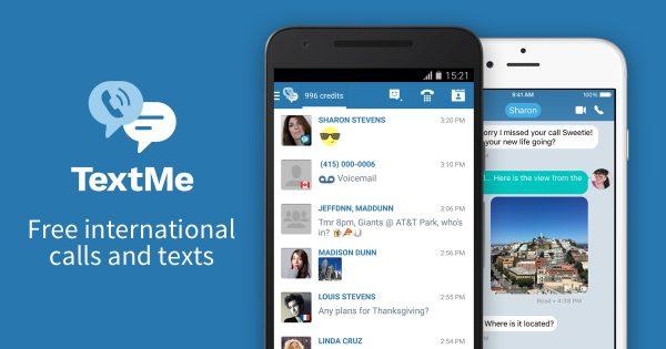 Text Me - Free Texting & Calls Mod APK